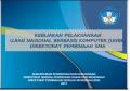 Kebijakan Pelaksanaan Ujian Nasional Tahun Ajaran 2017-2018 Berbasis Komputer Direktorat Pembinaan SMA