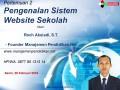 02 Modul 2 Sistem Informasi Sekolah – Workshop Online Free Pembuatan Website Sekolah