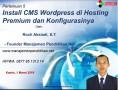 05 Modul 5 Install CMS WordPress dan Konfigurasinya – Workshop Online Free Pembuatan Website Sekolah