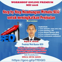 Informasi Pelatihan Pembuatan Website SEO untuk Sekolah