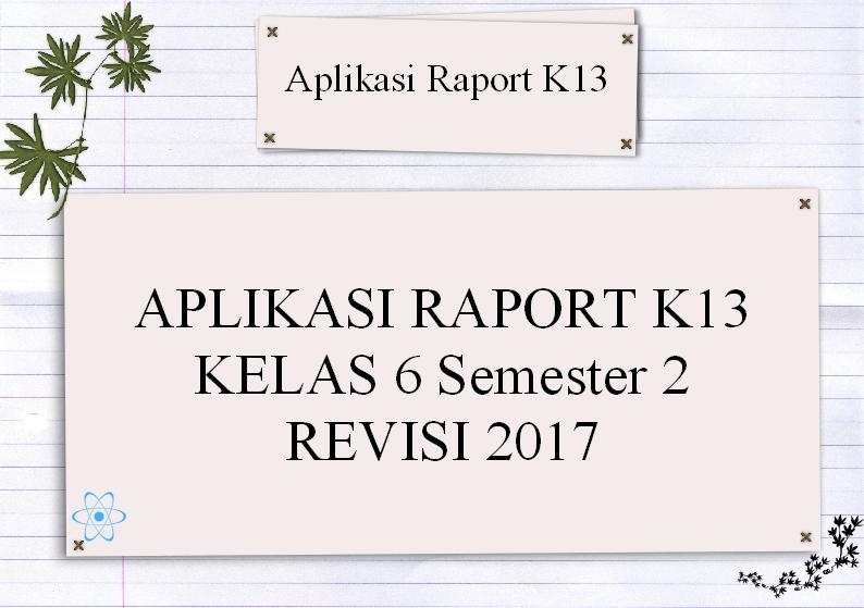Contoh Aplikasi Raport K13 Smp Archives Manajemen Pendidikan Net