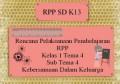 Rencana Pelaksanaan Pembelajaran RPP K13 Kelas 1 Tema 4 Sub Tema 4 Kebersamaan Bersama Keluarga