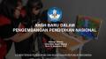 Arah Baru dalam Pengembangan Pendidikan Nasional